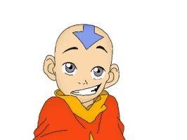 Aang Colored by CindyRex