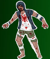 L4D2: Sweatshirt-wearing wuss by Fenrize