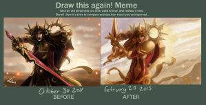 Draw this again: Leona by Kerozzart