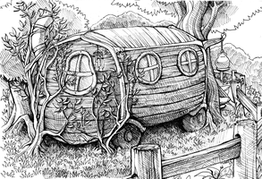 Gypsy Caravan Thing by DamnTorren
