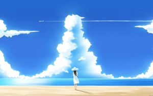 Wallpapers-anime-girl-stores-sandbox-sky-193888 by KatXMousy