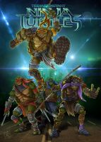 Teenage Mutant Ninja Turtles by clefchan