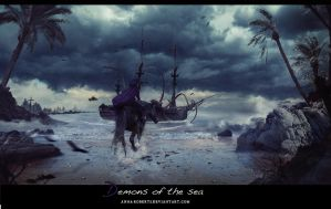Demons of the sea by Anna-Roberts