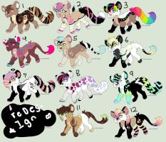 /Fabulous Lion Adopts/ by BleedingColorAdopts