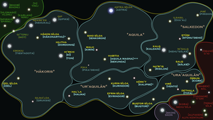 Aquilaan Empire Sector Map by Aib-Alex