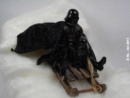 Darth and Jr. snow fun by reiner67