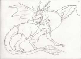 The Chimera Discord -uncolored by MegalaniusPrime