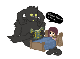 Boogeyman's Bedtime Story by Daemon107