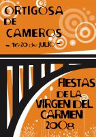 Cartel fiestas 2008 by Red-bat