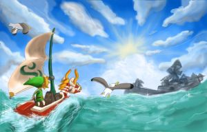 Wind Waker HD by KH-LoZ-er