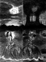 Mermaids Of Two Different Eras by Pyramiddhead