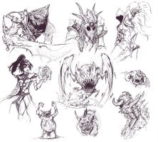 Diablo Sketch Ups by KalaSketch