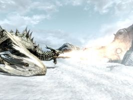 Paarthurnax by isaac77598