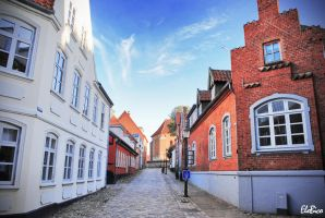 Viborg old Town by Clipse89