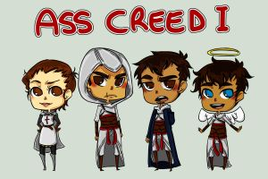 Ass Creed 1 Lineup by rosey-so-silly