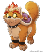 Cat Bowser by xNIR0x
