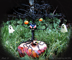 Halloween tree2 by HollieBollie