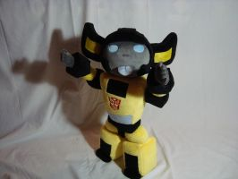 Sunstreaker plush by PlanetPlush