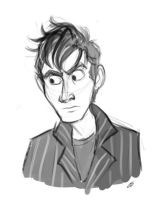 Tennant Sketch by autogatos