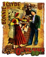 Outlaws Bonnie and Clyde 2 by kingsley-wallis