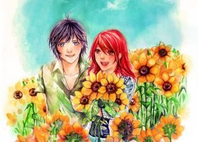 ::Summer's SunFlowers:: by Pae-kym