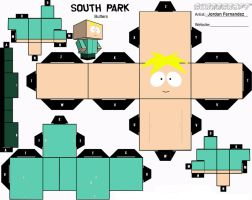 Butters Cubee Template by jordof131