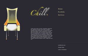 Chill, first mockup by mannicken