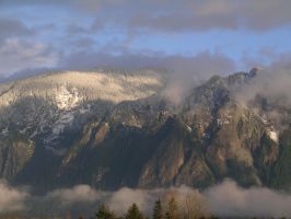 Mt. Si In The Sun by j-dub