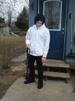Jeff the Killer cosplay by Akatsuki-sisters