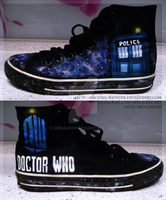 + Airbrushing - Doctor Who Convers + by Michael-Richter