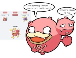 Slowbro + Weezing = Slowzing by fretless94