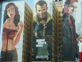 Grand Theft Auto IV Buildings by z-isthenew-x