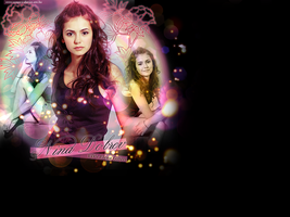 Nina Dobrev by creature-in-night