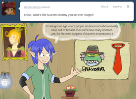 Ask Shino - Scariest? by pocket-arsenal