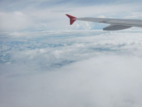 On the plane by hushed-words