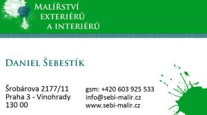Decoraters business card by Lifety