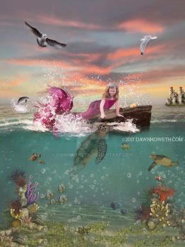 Paiton mermaid2 by dawnhoweth