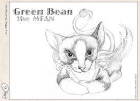 Green Bean the Mean by cephaloneiric