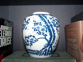 Asian Vase by seiyastock