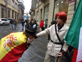 SpaiMano Cosplay from Hetalia by RoVargas