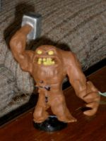Custom Giant Clayface Heroclix by jcastick