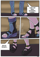 Fit for a Queen page Five by YukiCos