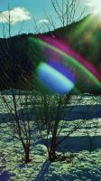 Rainbow UFO by lucium55