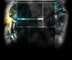 Youtube Layout - Ghost Recon by zedzna