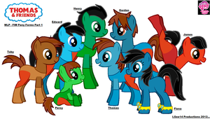 Thomas and Friends/MLP - FIM Forms Pt. 1 by LGee14