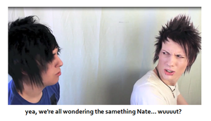 yup. Nate and Des by CaityLikesTurtles