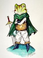 Frog: Chrono trigger by Bgm94