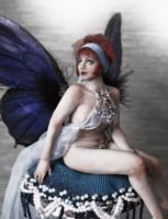 ooak Clara bow fairy portrait by fairiesndreams