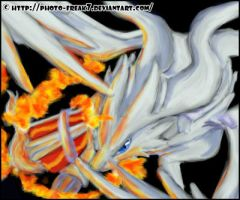 Reshiram painting by Photo-Freak7