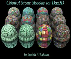 Colorful Tile Shader Pack by BohemianHarlot